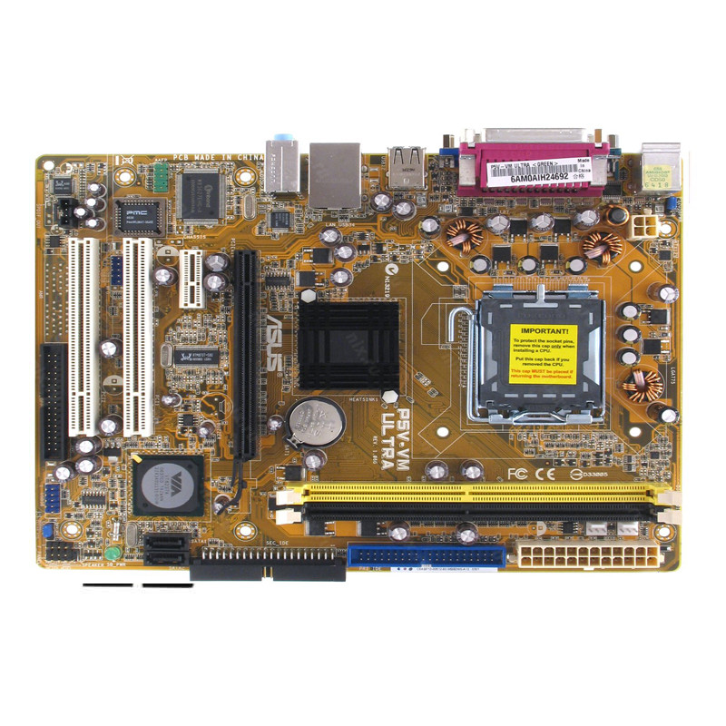Материнская плата Asus P5V-VM Ultra
