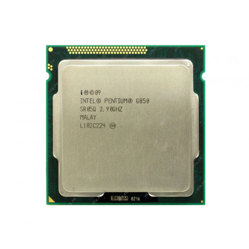 CPU Intel Pentium G850 2,9GHz/3M/1333 tray S1155 Донецк