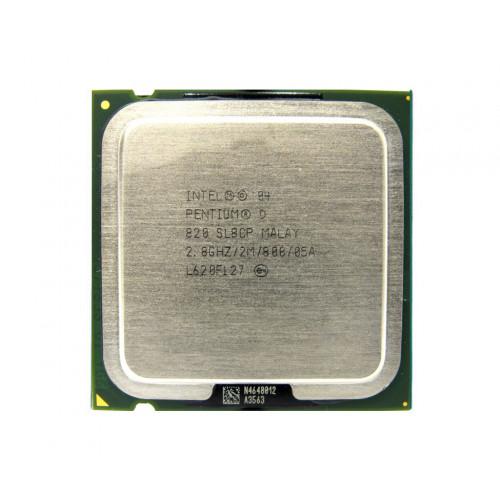 CPU Intel Pentium D820 2,8/2M/800 tray Донецк