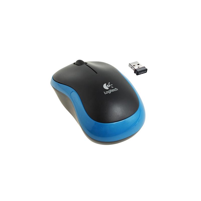 Мышь Logitech M185 Blue, Black USB Донецк