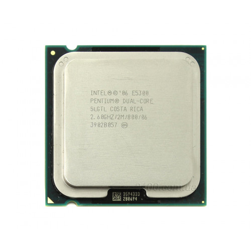 CPU Intel Dual Core E5300 2,6/2M/800 tray