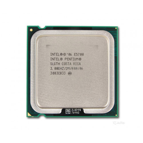 CPU Intel Dual Core E5700 3,0/2M/800 tray