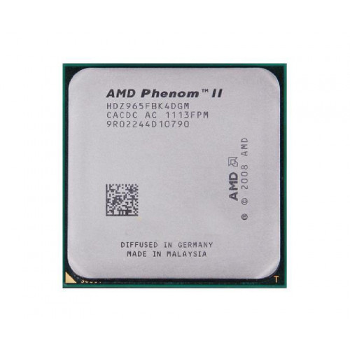 CPU AMD Phenom II x4 965 AM3 tray