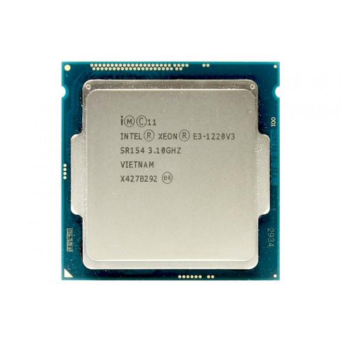 CPU Intel Xeon E3-1220 3.1GHz / 8Mb / 1333 tray